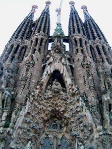 Nativity façade of Sagrada Familia