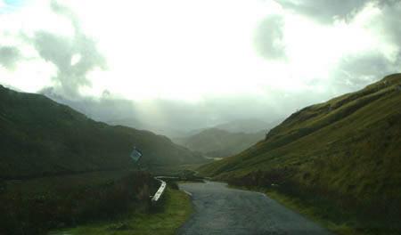 Valley leading to Glenelg