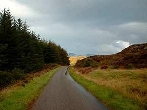 Landscape on the walk back